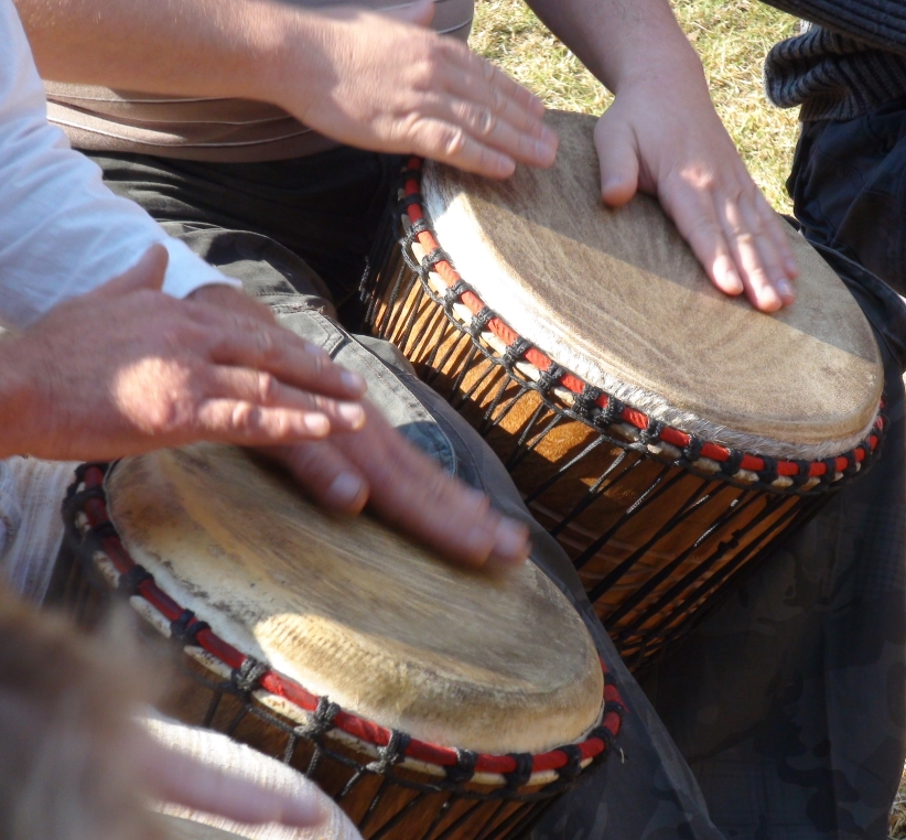 Interactive Djembe Drumming with Heart Song, Vaughan Harris